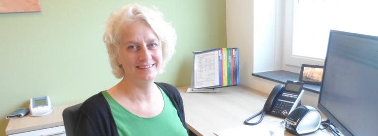 Hedwig Hanselman, praktijkondersteuner bij huisartsenpraktijk in Doesburg, richt zich bij de behandeling van etalagebenen vooral op preventie en leefstijl.